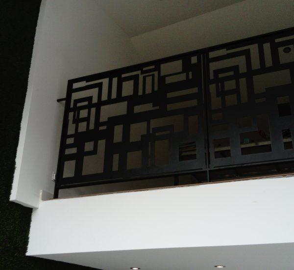 Clôture balcon